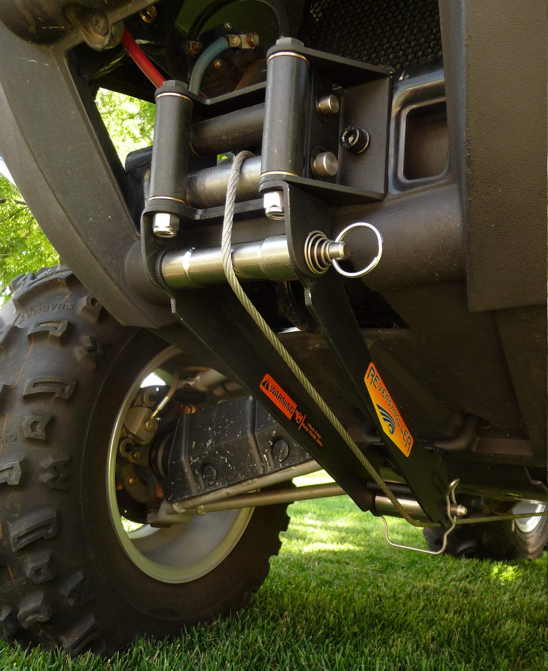 Reversaroller Bracket Allows You To Winch Your Atv